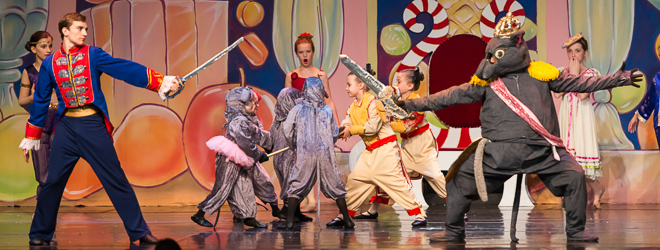 2014 Nutcracker Ballet - Battle Scene - Ballet America - Fox Theatre - Redwood City