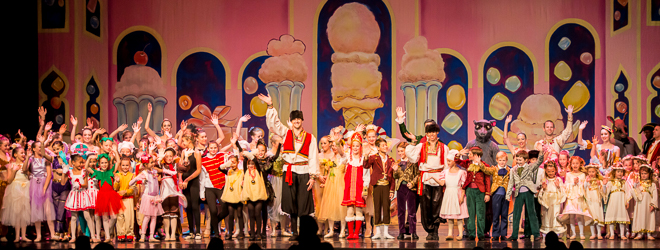 2014 Nutcracker Ballet - Finale - Ballet America - Fox Theatre - Redwood City