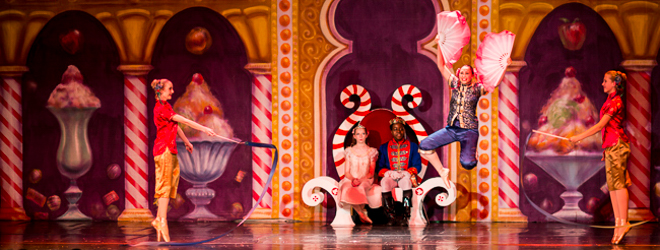 2012 Nutcracker Ballet - Chinese Scene - Ballet America - Fox Theatre - Redwood City