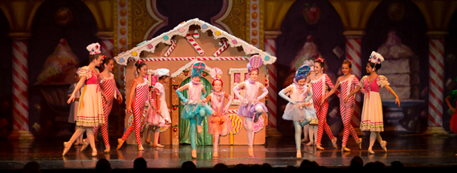 2012 Nutcracker Ballet - Sweets Scene - Ballet America - Fox Theatre - Redwood City