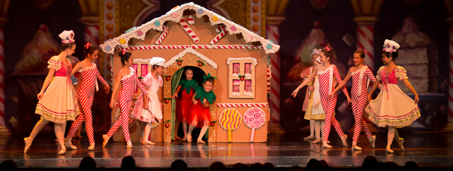 2013 Nutcracker Ballet - Sweets Scene - Ballet America - Fox Theatre - Redwood City