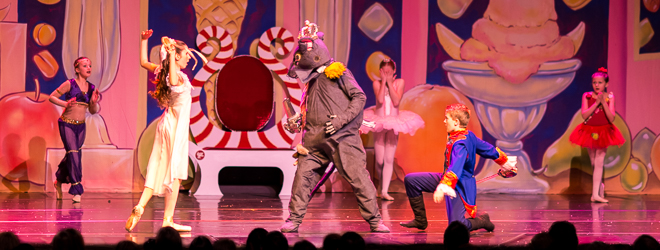 2013 Nutcracker Ballet - Battle Scene - Ballet America - Fox Theatre - Redwood City
