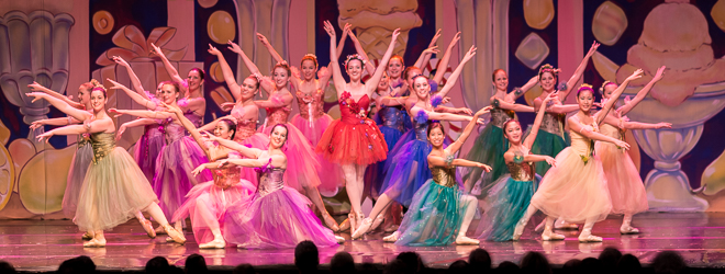 2013 Nutcracker Ballet - Flower Scene - Ballet America - Fox Theatre - Redwood City