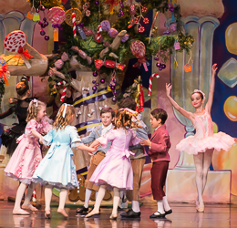2014 Nutcracker Ballet - Sweets Scene - Ballet America - Fox Theatre - Redwood City