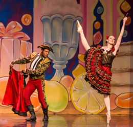 2014 Nutcracker Ballet - Haylie Jarvis - Ballet America - Fox Theatre - Redwood City
