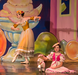 2014 Nutcracker Ballet - Ellis Spickermann - Ballet America - Fox Theatre - Redwood City