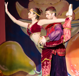 2014 Nutcracker Ballet - Arabian Scene - Ballet America - Fox Theatre - Redwood City
