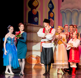 2014 Nutcracker Ballet - Julia Dugan - Ballet America - Fox Theatre - Redwood City
