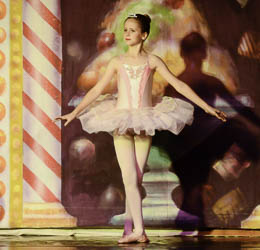 2012 Nutcracker Ballet - Elise Rhen - Ballet America - Fox Theatre - Redwood City